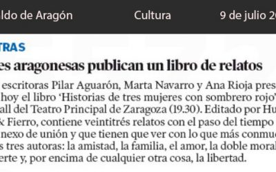 Heraldo de Aragón, noticia de Cultura