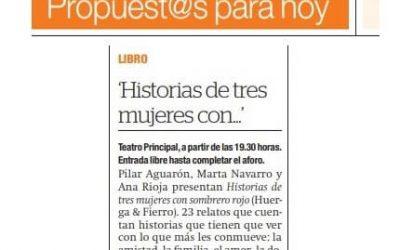El Periódico de Aragón, Propuesta para Hoy