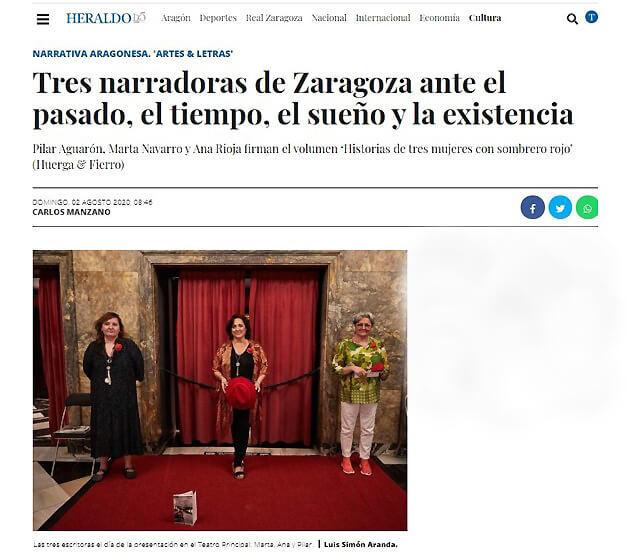 heraldo.es, reseña Artes & Letras