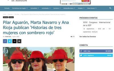 Periodistas de Aragón, noticia