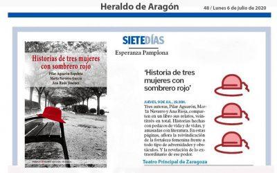 Heraldo de Aragón, noticia contraportada