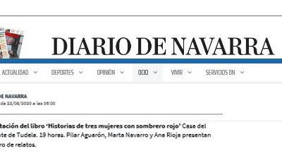 Presentación en Tudela -Diario de Navarra
