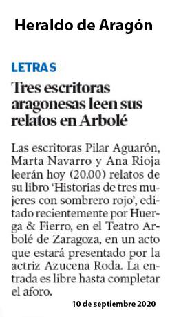 Lectura en Arbolé – Heraldo de Aragón