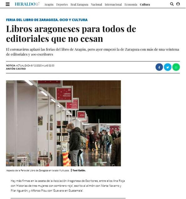Feria del Libro de Zaragoza – Heraldo.es