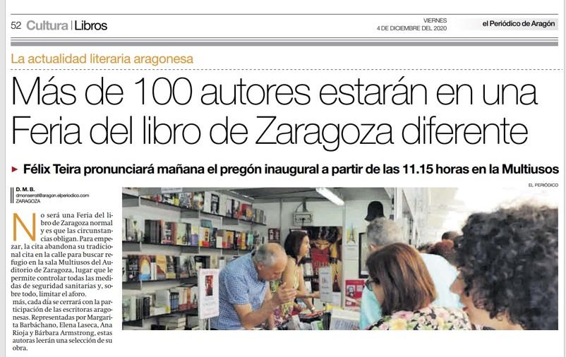 Feria del Libro de Zaragoza – El Periódico de Aragón